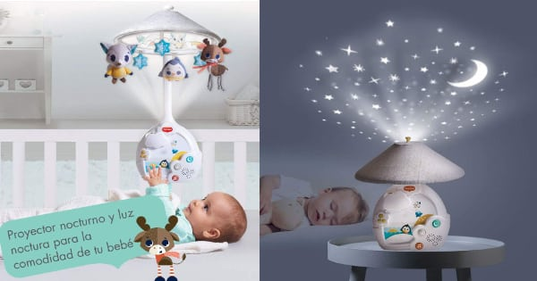 Carrusel de cuna Tiny Love Magical Night Polar Wonders barato, productos de bebé baratos, ofertas en juguetes de bebé chollo