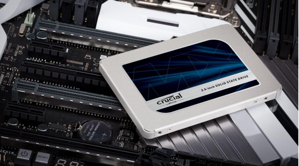 Disco SSD Crucial MX500 1TB barato. Ofertas en discos SSD, discos SSD baratos, chollo