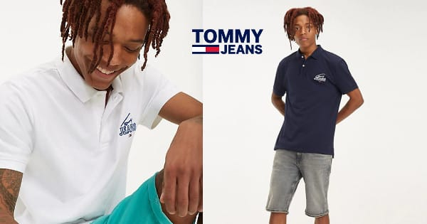 Polo Tommy Jeans Graphic barato, polos baratos, chollo
