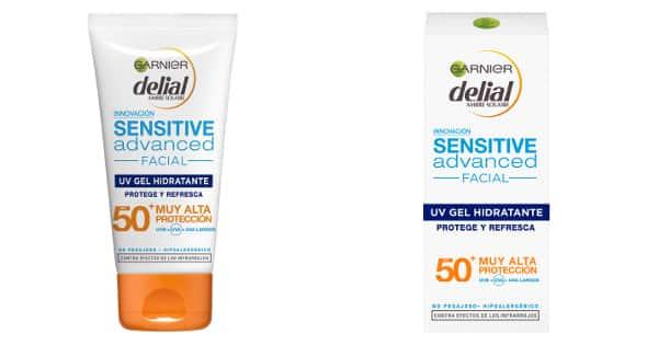 Protector solar facial Delial Sensitive Advanced FP 50+ barato, cremas baratas, ofertas crema solar, chollo