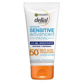 Protector solar facial Delial Sensitive Advanced FP 50+ barato, cremas baratas, ofertas crema solar