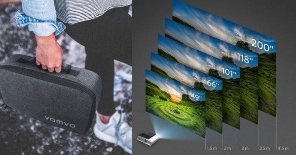 Proyector Vamvo L4200 barato, ofertas en proyectores, proyectores baratos, chollo