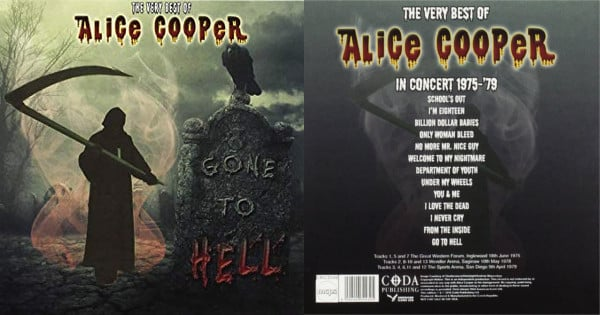 CD Alice Cooper Gone To Hell barato. Ofertas en música, música barata, chollo