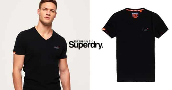 Camiseta Superdry Vintage barata, ropa de marca barata, chollo