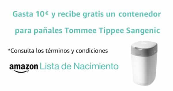 Contenedor Sangenic gratis con Lista de Nacimiento barato, productos para bebes baratos, ofertas para niños chollo