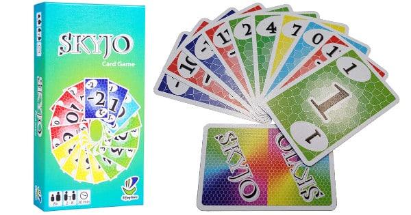 Juego de cartas Skyjo barato, juegos de cartas baratos, chollo