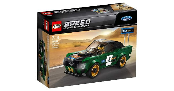 LEGO Speed Champions Ford Mustang Fastback de 1968 barato, LEGO baratos, chollo