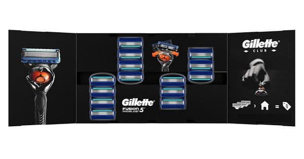 Pack de 14 recambios de cuchillas Gillette Fusion 5 ProGlide baratas, ofertas en recambios de afeitar, cuchillas de afeitar baratas, chollo