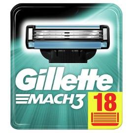 Pack de 18 recambios Gillette Mach3 baratos, cuchillas de maquinilla baratas