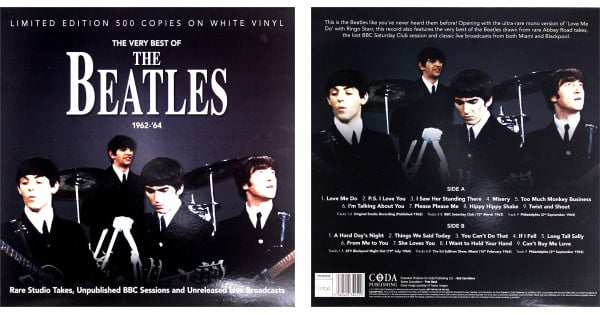 Vinilo The Very Best of The Beatles 1962-64 barato, ofertas en vinilos, vinilos de colección baratos, chollo