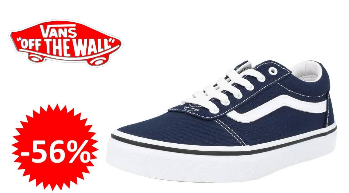 Zapatillas para hombre Vans Ward Canvas baratas, zapatillas de marca baratas, ofertas calzado, chollo