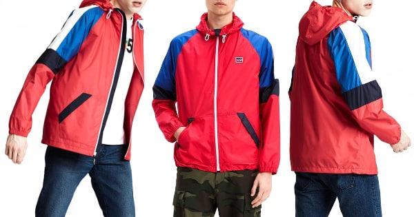 Chaqueta Levi's Colorblock Windrunner barata, ropa de marca barata, ofertas en chaquetas chollo