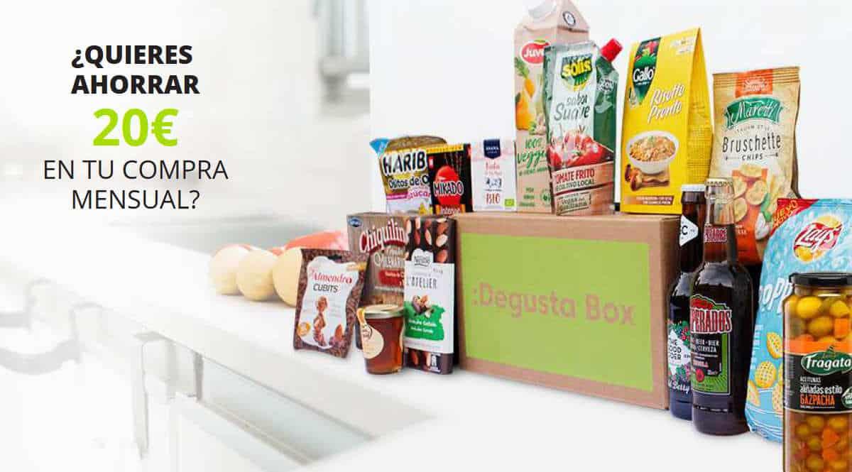 Cupón descuento Degusta Box, chollo