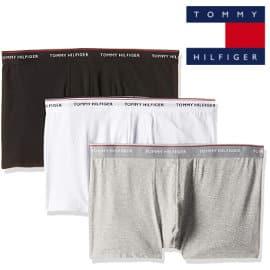 Pack de 3 boxers Tommy Hilfiger Essential Stretch baratos, calzoncillos de marca baratos, ofertas en ropa interior