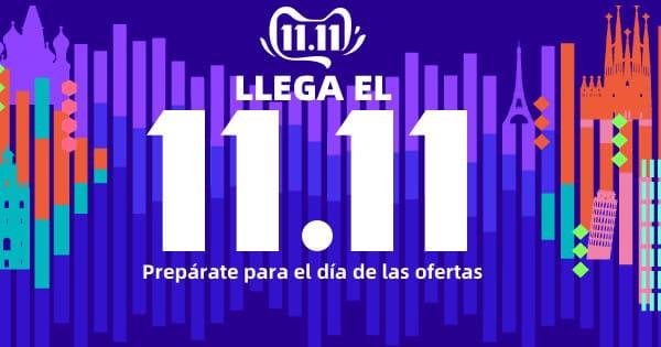 Singles Day 11.11 en Aliexpress, chollo