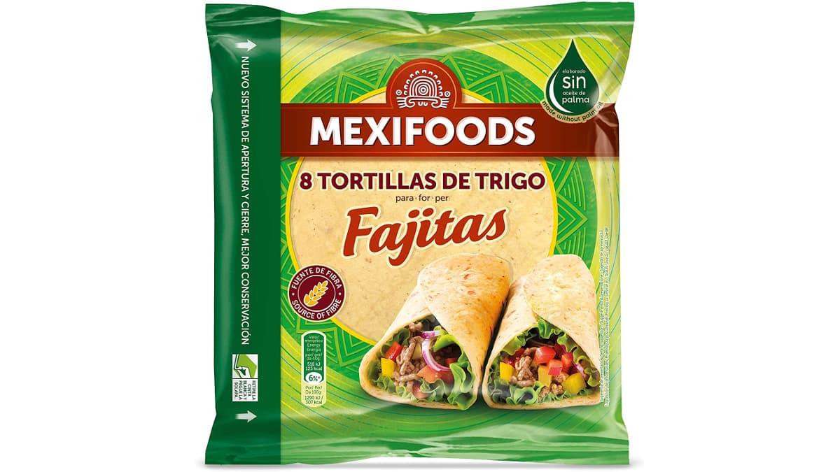 Tortitas Mexifoods baratas, ofertas supermercado, chollo
