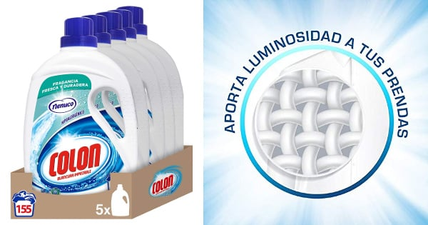 155 dosis de detergente Colon Nenuco barato, detergente barato, ofertas en supermercado chollo