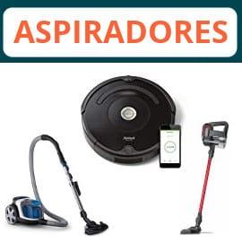 Aspiradores y robots aspiradores baratos, ofertas en aspiradores, aspiradores baratos