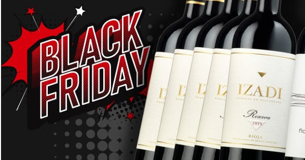Black Friday Vinoselección, vino barato, chollo