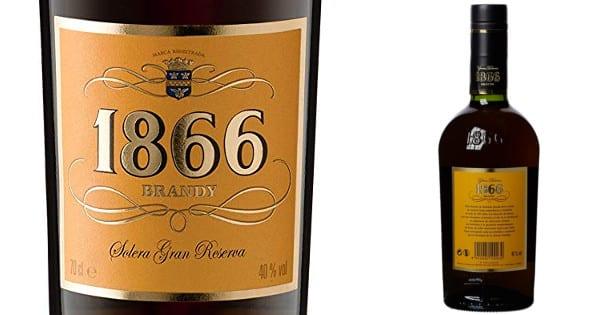 Brandy 1866 Brandy Solera Gran Reserva barato. Ofertas en supermercado, chollo