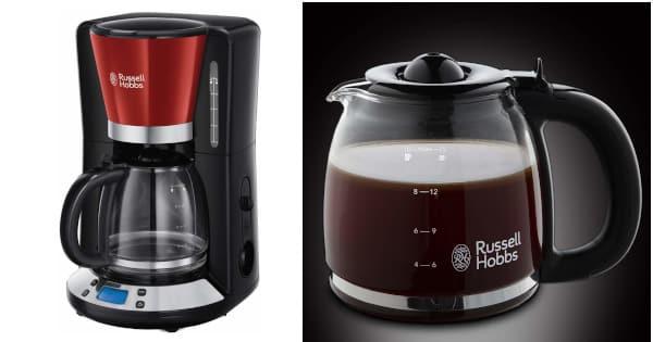Cafetera de goteo Russell Hobbs Colours Plus barata, cafeteras baratas, electrodomésticos baratos chollo