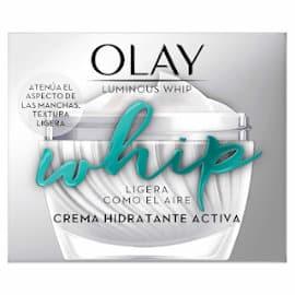 Crema de día Olay Luminous Whip barata, cremas hidratantes baratas, cuidado facial barato
