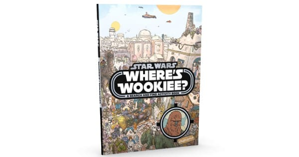 Libro Star Wars Where is The Wookie barato, libros baratos, chollo