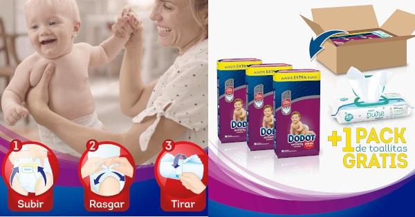 Pañales Dodot Activity Pants tallas 3, 4, 5 y 6 baratos, productos bebé baratos, pañales baratos, ofertas en pañales bebé chollo