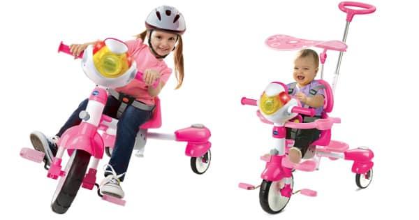 Triciclo Inteligente Evolutivo VTech barato, juguetes baratos, ofertas para niños chollo