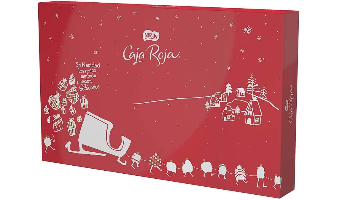 Bombones Nestlé Caja Roja baratos, bombones de chocolate baratos, ofertas supermercado, chollo