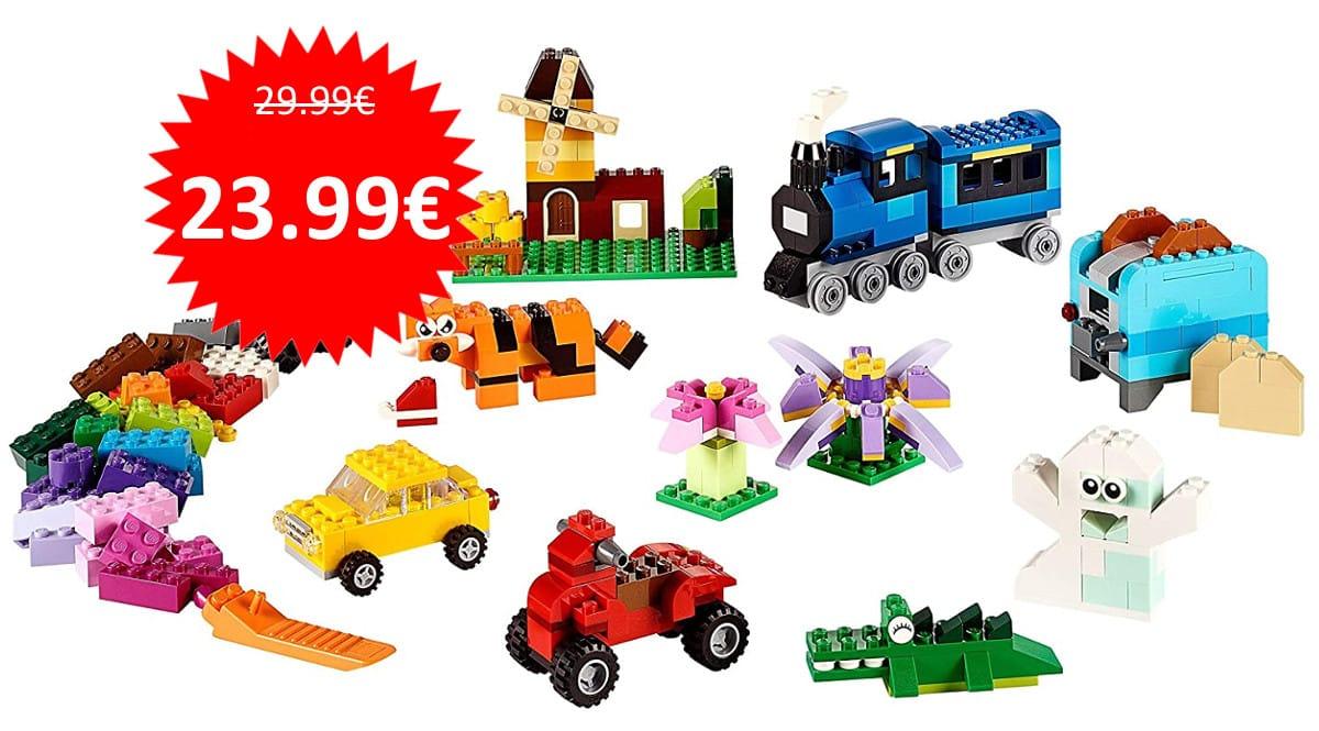 Caja de 484 piezas LEGO Classic barata. Ofertas en juguetes, juguetes baratas, chollo