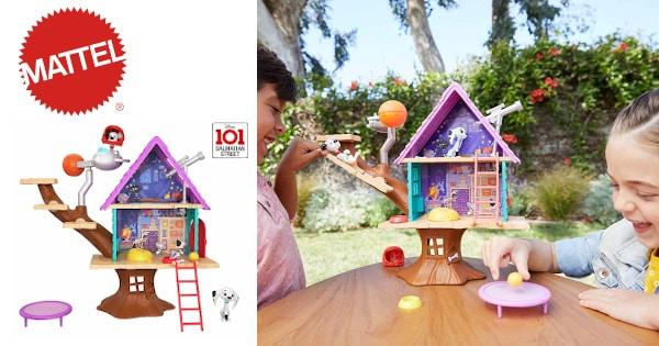 Casita del árbol 101 Dálmatas (Mattel GDL88) barata, juguetes baratos, productos para niños baratos chollo
