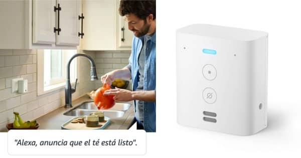 Enchufe integliente Amazon Echo Flex barato. Ofertas en dispositivos Amazon, dispositivos Amazon baratos, chollo