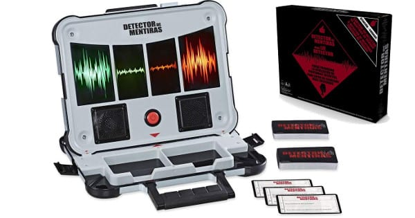 Juego de mesa Detector de Mentiras de Hasbro Gaming barato, juegos baratos, chollo