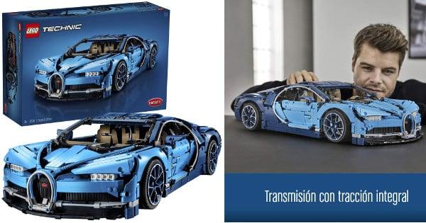 Lego Technic Bugatti Chiron barato, juguetes baratos, LEGO baratos, chollo