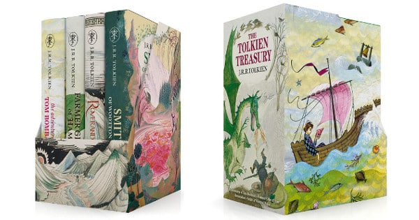 Pack de libros The Tolkien Treasury baratos, libros baratos, chollo