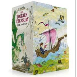 Pack de libros The Tolkien Treasury baratos, libros baratos