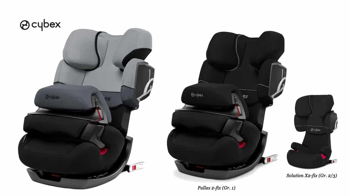 Silla de coche Cybex Pallas 2-Fix Grupo 1 2 3 , sillas de coche de marca baratas, ofertas en artículos para bebé, chollo