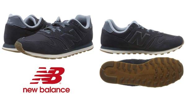 Zapatillas de hombre New Balance 373 baratas, zapatillas de deporte baratas, zapatos de hombre baratos, zapatillas de marca baratas chollo