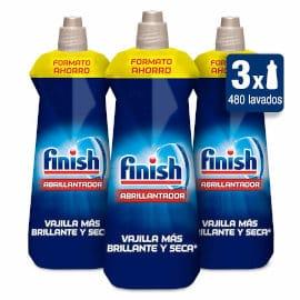Abrillantador para lavavajillas Finish pack 3 unidades x 800 ml barato, detergente lavavajillas barato, productos supermercado baratos