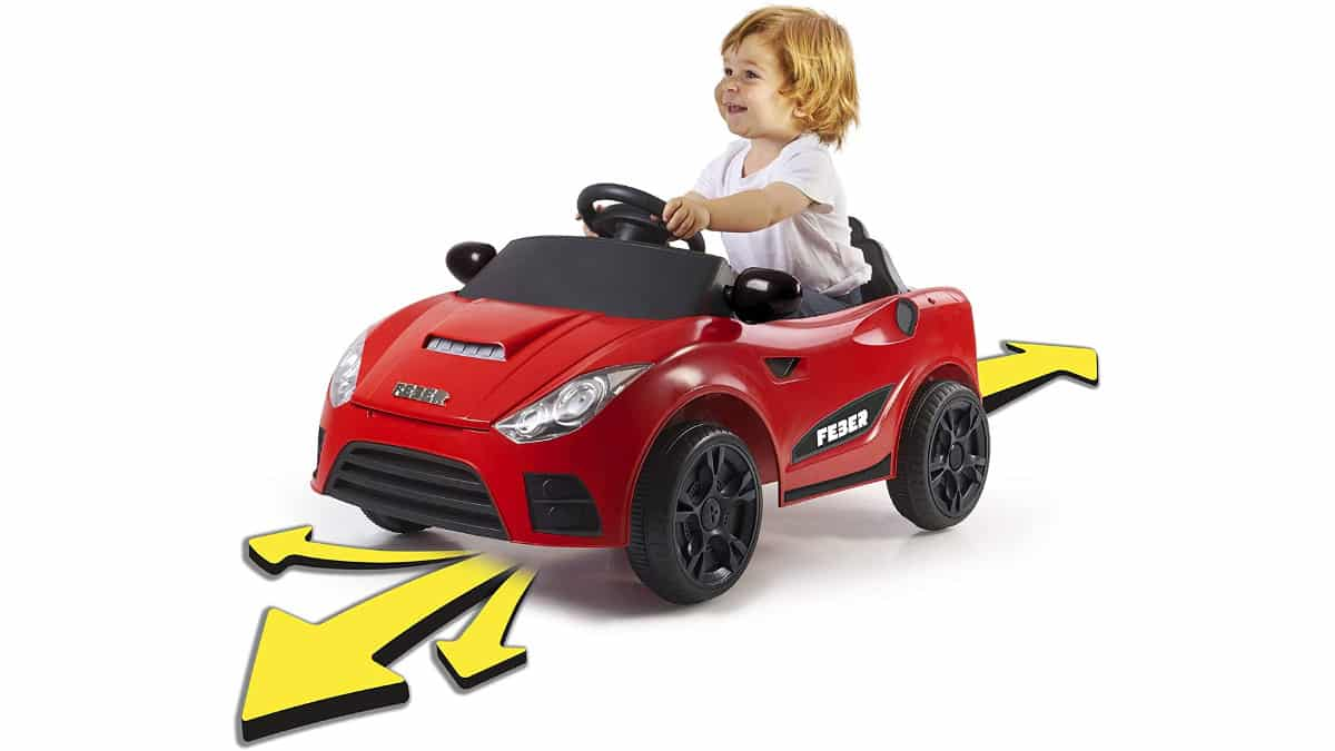 Coche eléctrico interactivo Feber My Real Car barato, coches de juguete baratos, chollo