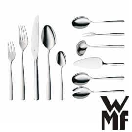 Cubertería 66 piezas WMF Boston Cromargan barata, menaje de cocina barato, cubiertos baratos