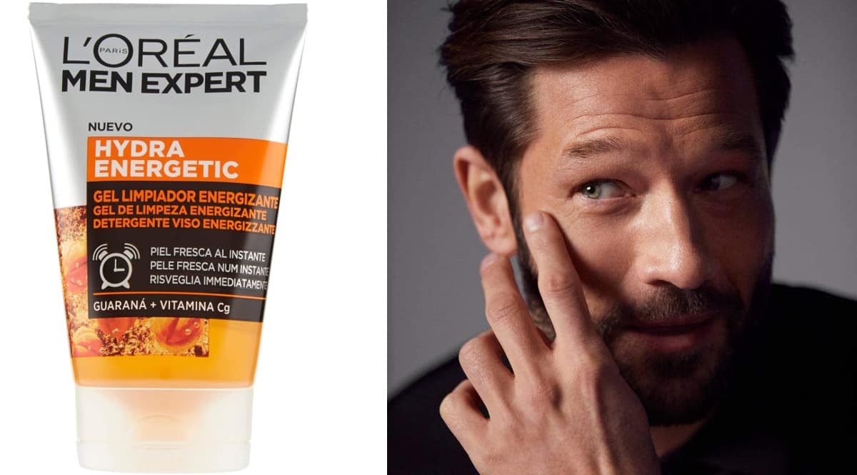 Gel limpiador L'Oréal Men Expert - Hydra Energetic barato, cremas de marca baratas, ofertas belleza, chollo