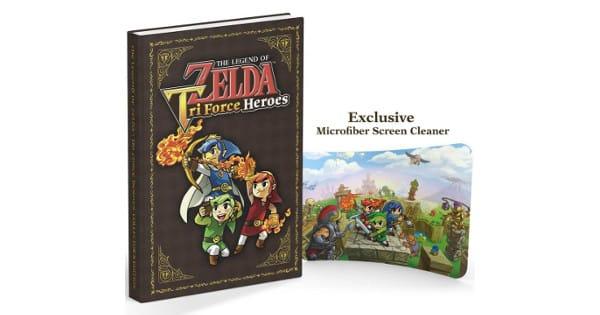 Guía coleccionista Zelda Tri Force Heroes barata, guías baratas, chollo