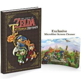 Guía coleccionista Zelda Tri Force Heroes barata, guías baratas