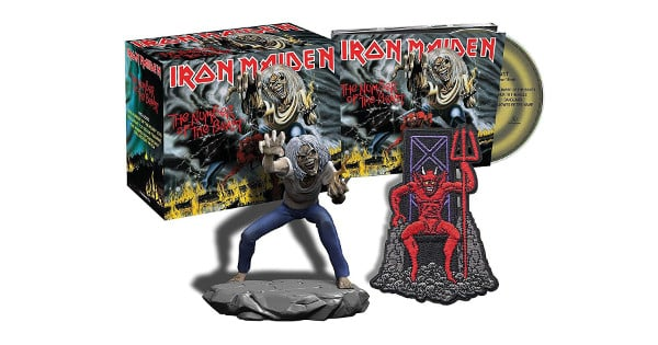 Iron Maiden - The Number Of The Beast (CD + figura) barato, CDs baratos, chollo