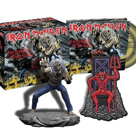 Iron Maiden - The Number Of The Beast (CD + figura) barato, CDs baratos