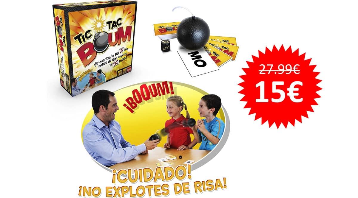 ¡¡Chollo!! Juego de mesa Tic Tac Boum sólo 15 euros.
