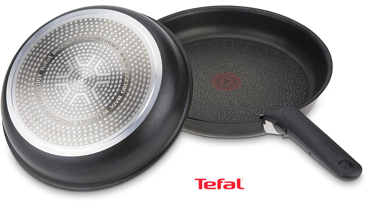 Juego de sartenes Tefal L6509105 Ingenio Expertise barato, sartenes baratas, ofertas cocina, chollo