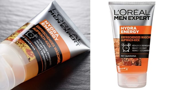 Pack de dos geles limpiadores L'Oréal Men Expert Hydra Energy barato, cremas baratas, ofertas para ti chollo